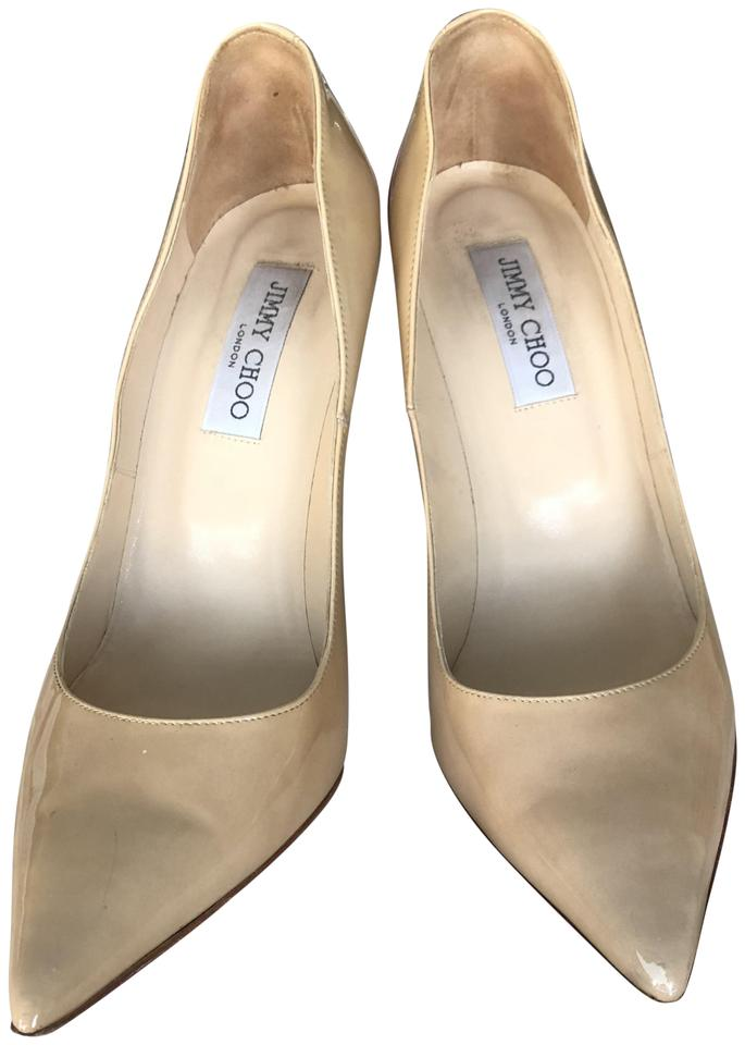 1c683b8a64ed Jimmy Choo Nude  anouk  Patent Leather Pumps Size EU 41 (Approx. US ...