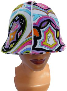 14b0e5da4e9 Emilio Pucci Emilio Pucci Multi Colored Bucket Hat