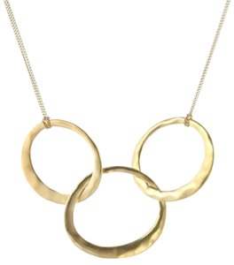 Kenneth Cole Gold-Tone 3-Circle Necklace
