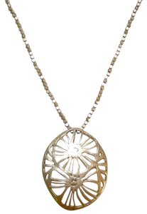 Kenneth Cole New Kenneth Cole Gold Flower Pendant Necklace