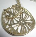 Kenneth Cole Gold New Flower Pendant Necklace Kenneth Cole Gold New Flower Pendant Necklace Image 8