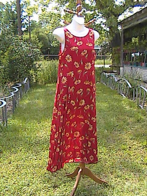 Floral Maxi Dress by My Michelle Sleeveless Summer Image 1
