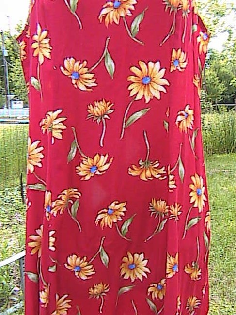 Floral Maxi Dress by My Michelle Sleeveless Summer Image 3