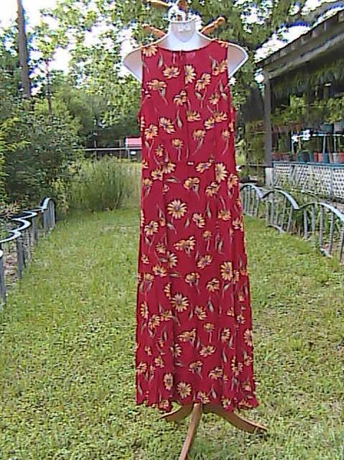 Floral Maxi Dress by My Michelle Sleeveless Summer Image 5
