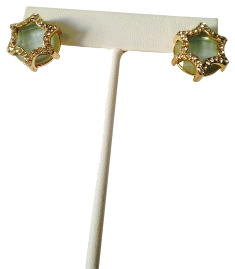 Preload https://img-static.tradesy.com/item/2289763/neiman-marcus-greengold-nwot-faceted-amazonite-and-cubic-zirconia-in-14kt-gold-plate-stud-earrings-0-0-540-540.jpg