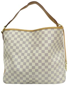Louis Vuitton Damier Azur Delightful Canvas Hobo Bag
