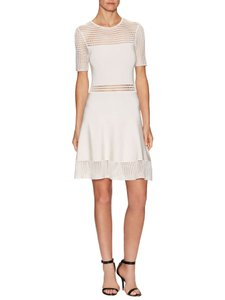 Ronny Kobo Collection Fit & Flare Eyelet Dress