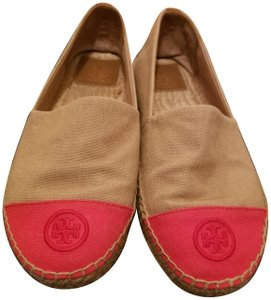 Tory Burch Beige and pink Flats