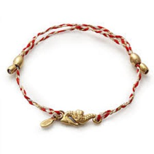 Alex and Ani Alex and Ani Precious Threads Sea Horse Braided Band Bracelet