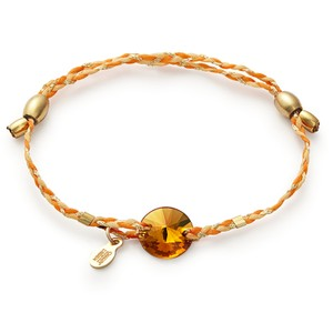 Alex and Ani Alex and Ani Precious Threads Topaz Swarovski Crystal