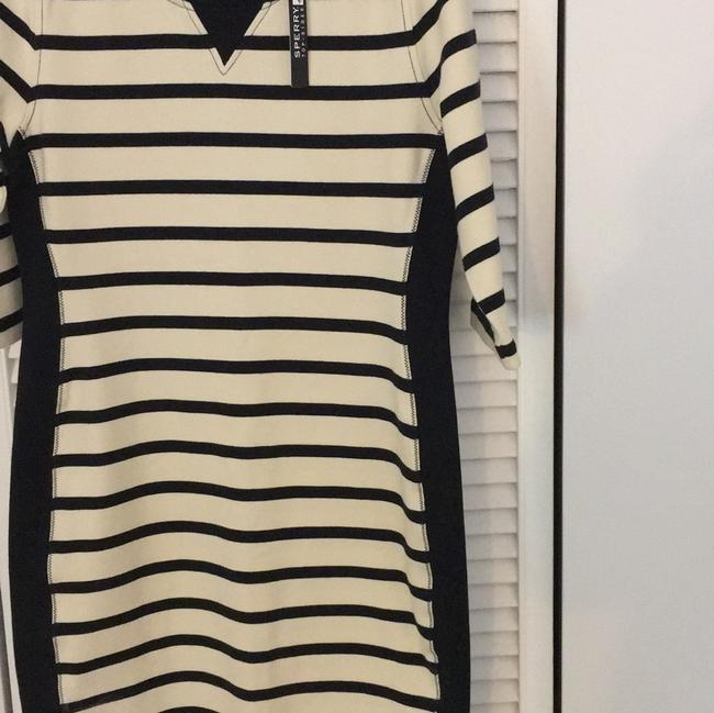 Sperry short dress Ivory Striped on Tradesy