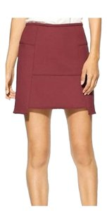 Tibi Mini Skirt RED