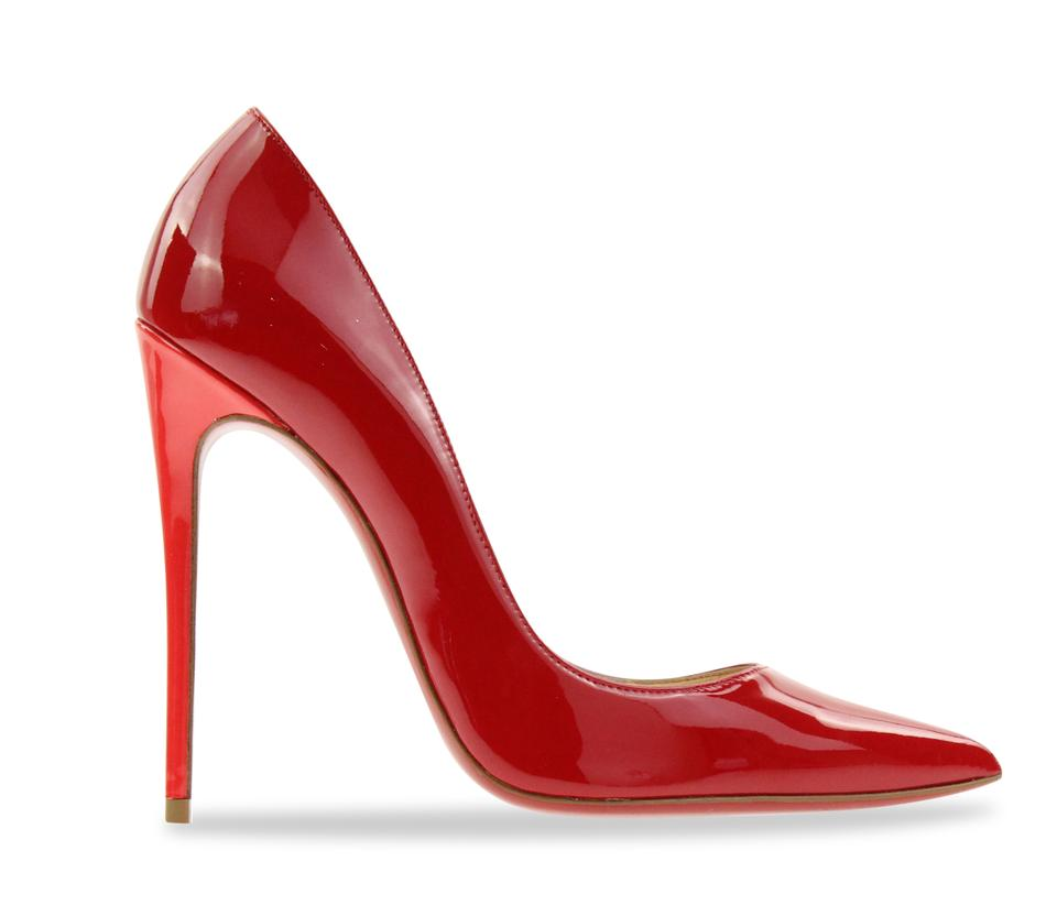 622fb8d0a519 Christian Louboutin Red Classic So Kate 120mm Patent Leather Point-toe Pink Heel  Pumps