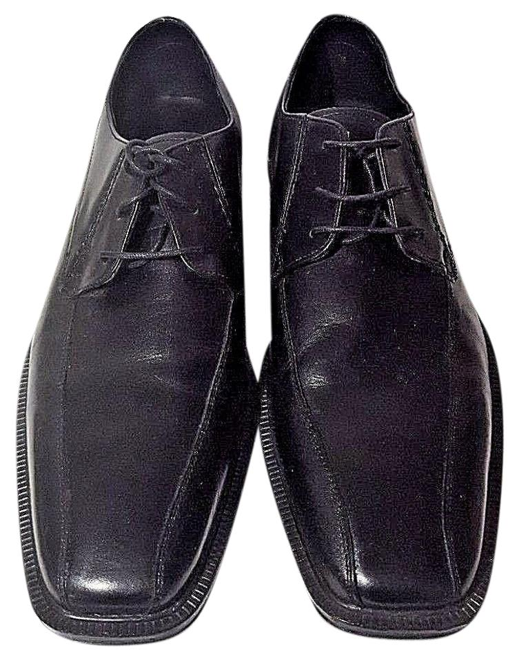 Franco Leather Fortini Black Warwick Men's Leather Franco Oxford Dress Formal Shoes bf9f88