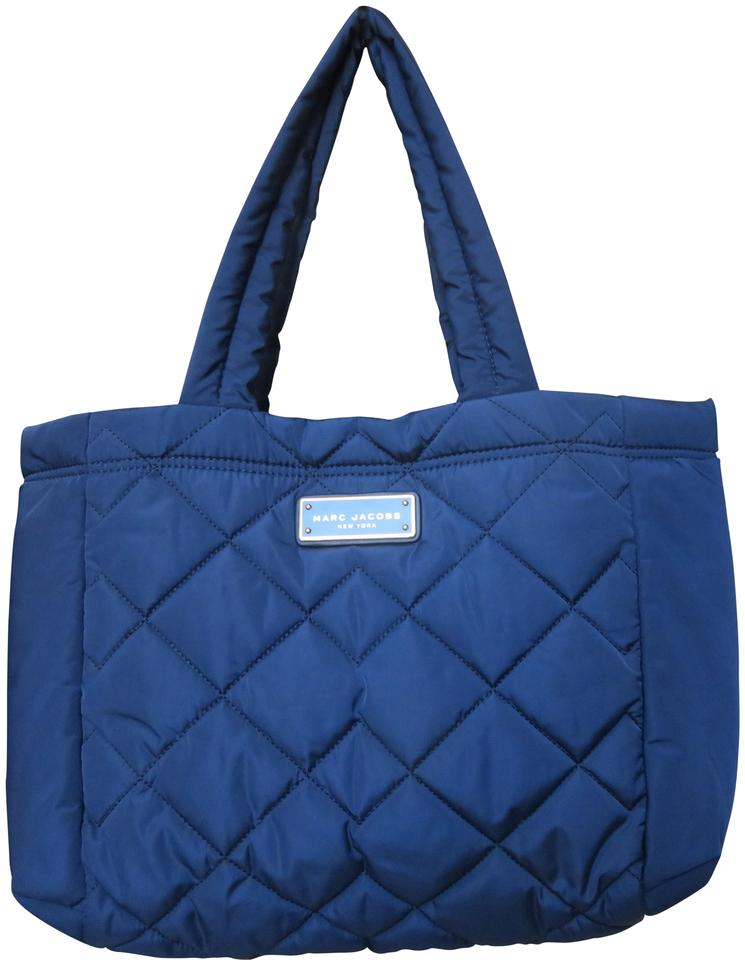 bc2406ae327c Marc Jacobs Nylon Light Weight Quilted Tote in Blue Image 0 ...