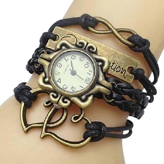 Preload https://img-static.tradesy.com/item/2289961/black-and-antique-bronze-reserved-for-maria-double-heart-infinity-multiwrap-watch-bracelet-0-0-540-540.jpg