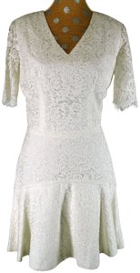 Misha Nonoo Cotton Blend Floral Lace Dress