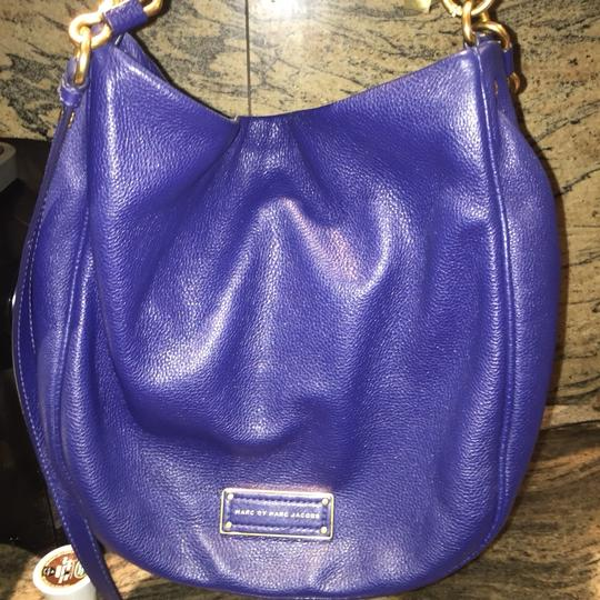 Marc by Marc Jacobs Louis Vuitton Handbag Electric Blue Crossbody Hobo Bag