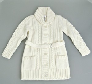 Gucci White Horsebit Kids Wool Sweater Cardigan W/Horsebit Detail 3 270719 9004 Groomsman Gift