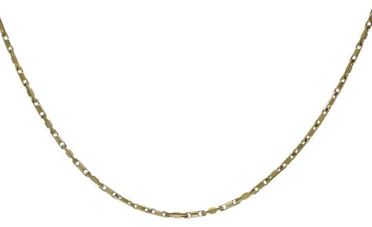 Preload https://img-static.tradesy.com/item/22900440/avital-and-co-jewelry-gold-over-silver-18k-yellow-st-18-bar-link-chain-made-in-italy-necklace-0-1-540-540.jpg