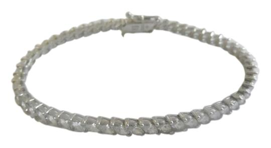Victoria Wieck Victoria Wieck .925 Sterling Silver Absolute Marquise Cut Diamond Line Bracelet size 7 1/2