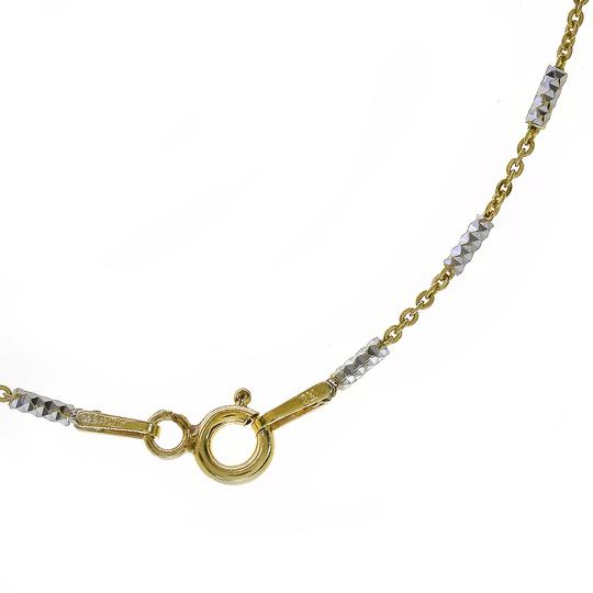 Avital & Co Jewelry Fancy Link Chain Made In Italy Yellow Gold Over Silver 18