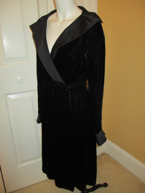 Abe Shrader Vintage Velvet Wrap Dress