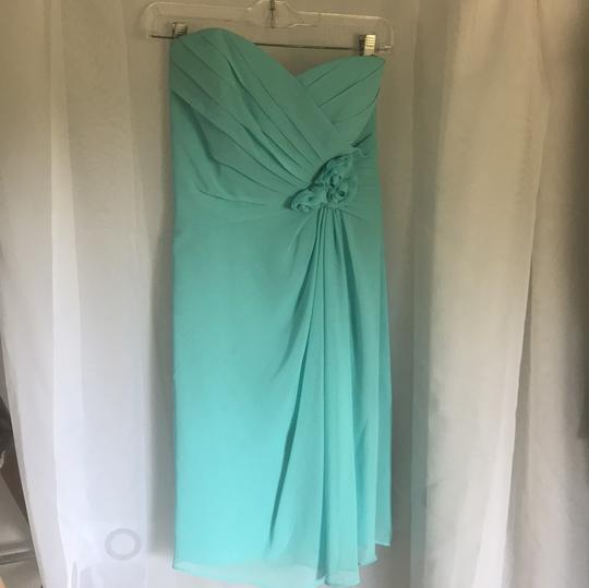 Alfred Angelo Pool Bridesmaid Traditional Wedding Dress Size 6 (S)