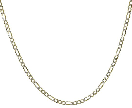 Preload https://img-static.tradesy.com/item/22900635/avital-and-co-jewelry-18k-yellow-gold-over-silver-figaro-link-chain-made-in-italy-18-necklace-0-1-540-540.jpg