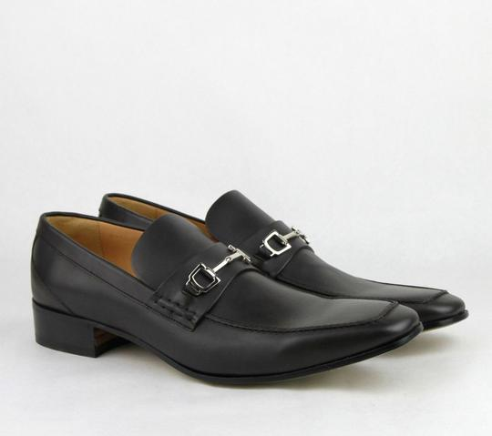 Gucci Dark Brown Horsebit Leather Loafer Silver 14.5/15.5 256345 2012 Shoes