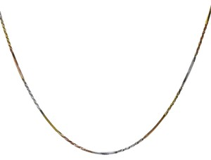 Avital & Co Jewelry 18K Tri-Color Gold Over Sterling Silver 16