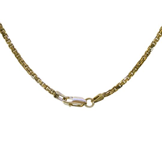 Avital & Co Jewelry Double Box Link Chain Made In Italy 14K Yellow Gold Over St Silver 20