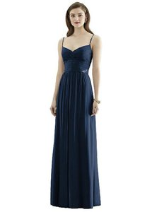 Dessy Bridesmaid Navy Dress