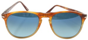 41b6eee7a9 Persol Signature Icons Collection Evolution Pilot Square Polarized 9649-S