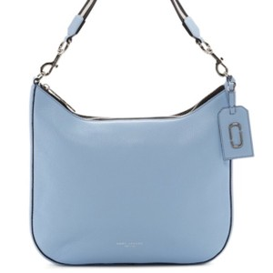 Marc Jacobs Gotham City Blue Leather Hobo Bag