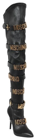 Preload https://img-static.tradesy.com/item/22900859/moschino-black-iconic-runway-leather-logo-buckle-over-the-knee-bootsbooties-size-eu-39-approx-us-9-r-0-1-540-540.jpg