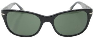 Persol Signature Frame Crystal Polarized Green Lenses 3020-S