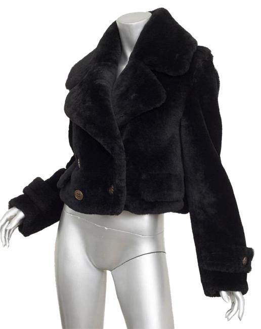 Preload https://img-static.tradesy.com/item/22901114/burberry-prorsum-black-shearling-fur-double-breasted-coat-miltary-jacket-size-2-xs-0-1-650-650.jpg