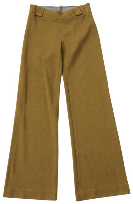 Preload https://img-static.tradesy.com/item/22901318/chartreuse-merino-wool-knit-trouser-flared-pants-size-4-s-27-0-1-650-650.jpg