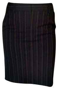 Express Pencil Size 0 Skirt black, beige