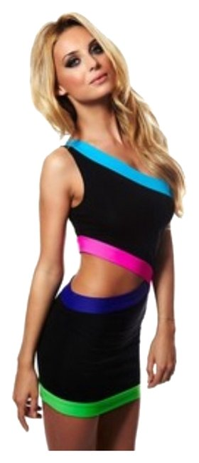 Other Neon Bachelorette Party Club Dress
