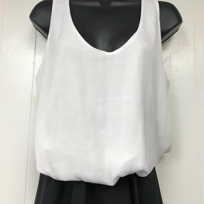 A|X Armani Exchange short dress White/Black on Tradesy