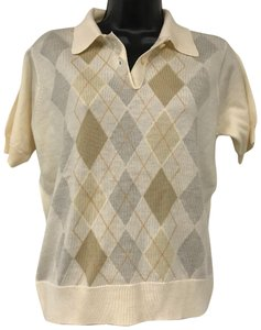 Pringle of Scotland Knit Top Beige