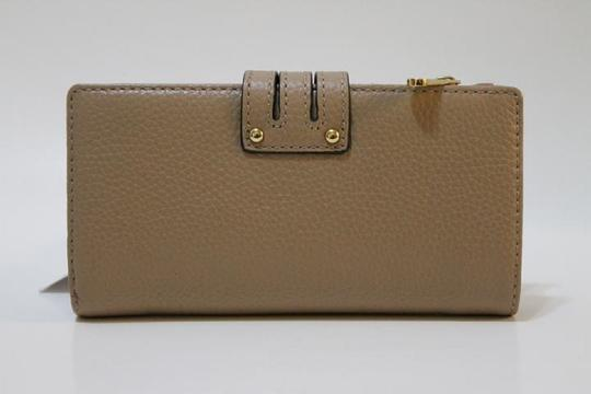 Michael Kors Wallet 190049413449 Mk Dark Khaki Brown Clutch