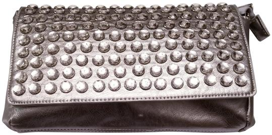 Preload https://img-static.tradesy.com/item/22901808/embellishments-with-2-shoulder-straps-silverpewter-faux-leather-clutch-0-1-540-540.jpg