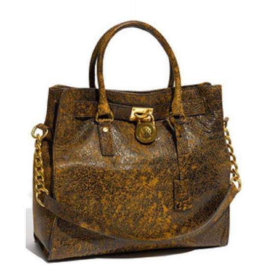 Michael Kors Antiqued Vintage Rare Suede Soft Tote in Distressed Mocha