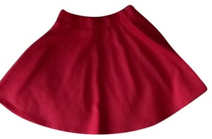 Wet Seal Skater Mini Skirt Pink