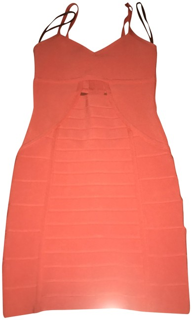 Item - Orange Short Night Out Dress Size 2 (XS)