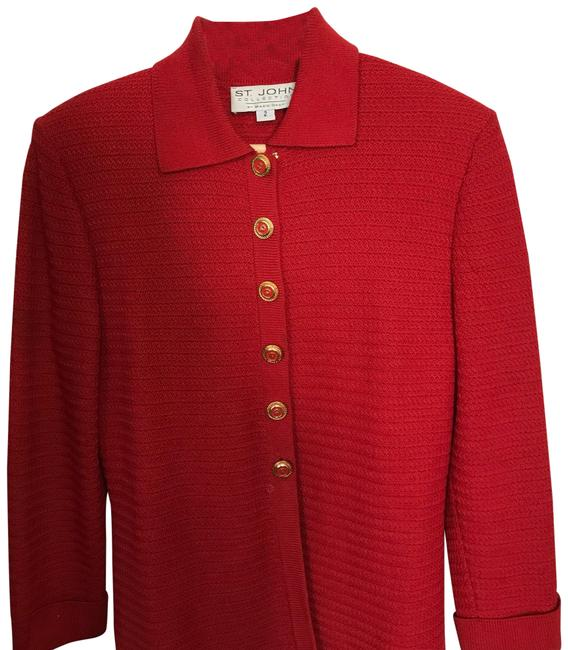 Preload https://img-static.tradesy.com/item/22901930/st-john-red-collection-cardigan-size-2-xs-0-1-650-650.jpg