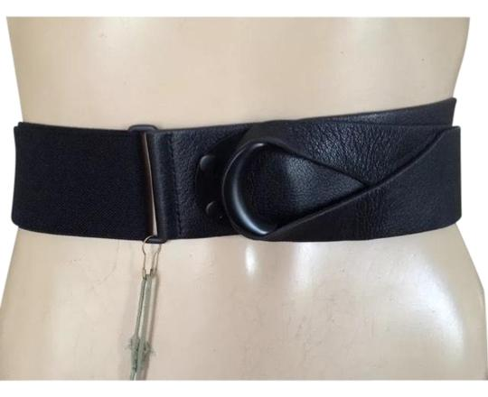 Preload https://img-static.tradesy.com/item/22902024/bcbgmaxazria-black-max-azria-runway-leather-front-one-size-waist-belt-0-1-540-540.jpg